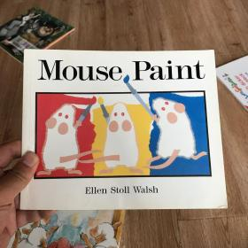 Mouse Paint 老鼠作画/三只老鼠系列 9780152001186