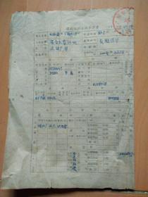 建设使用土地申请书(开封市建设局革命委员会)
