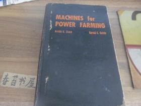MACHINES for POWER FARMING【动力农业机械】