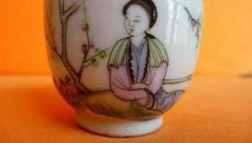 美女小茶杯20370