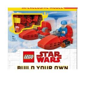 现货 乐高星球大战 乐高星球大战打造你自己的银河星际任务 英文原版 LEGO SW BUILD YOUR OWN ADV GAL 乐高积木 精装 美版