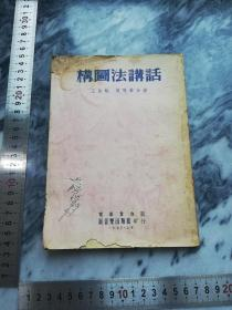 【1953年上海 第三版 繁体竖版 老书 万叶书店 新音乐出版社】构图法讲话