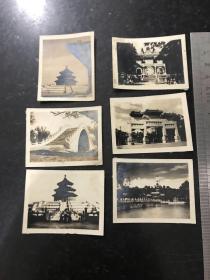 民國時期北京風光老照片6張 天壇 中山公園 北海公園等等