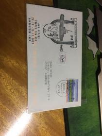 外國信封,海軍封,海軍軍艦徽章,20190819