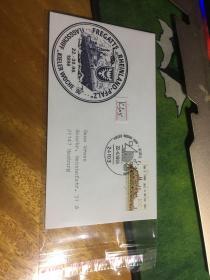 外國信封,海軍封,1996,pfalz,20190819