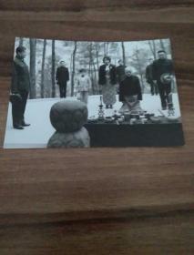 蒋介石故乡祭祖照片。此照片曾被某杂志选登。