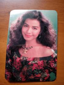 怀旧珍藏明星钟楚红《1990年年历卡》