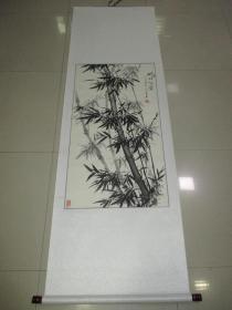 溫桂英 墨竹 國畫