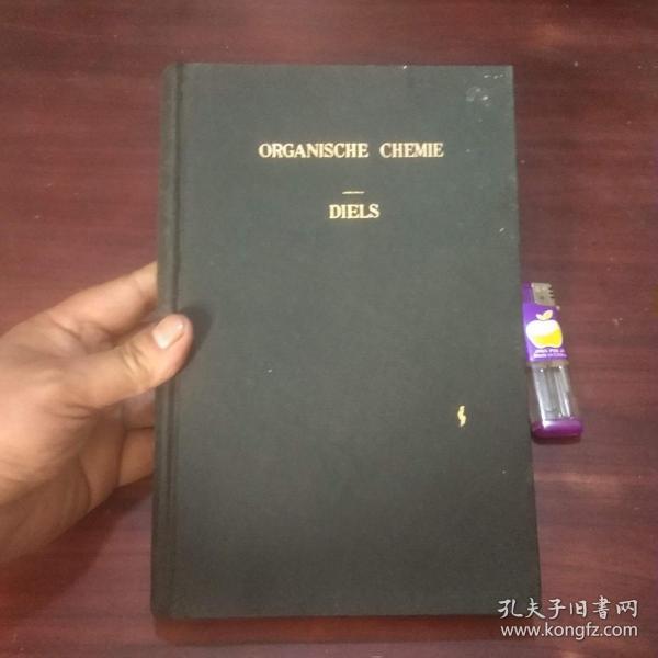 原版德文旧书:有机化学(16开漆布面精装)(1929年)(organische chemie)