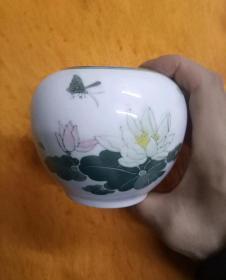 醴陵瓷笔洗21759
