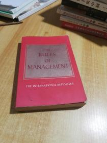 The Rules of Management: A Definitive Code for Managerial Success  管理学原则:管理成功的权威法则