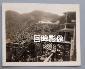 茶叶史料:民国汪裕泰茶庄在杭州的集茶处花园老照片