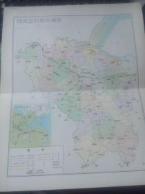 绍兴县行政区划图(一)(二)