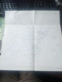 温州市行政区划图(约8开纸1张)