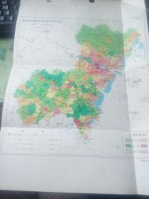 温州市乡镇基本农田保护率分布图