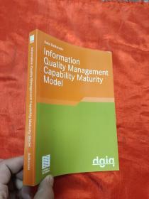 Information Quality Management Ca...     (大32开)     【详见图】