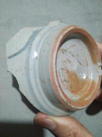 新登古城护城河工地淘来的老瓷片