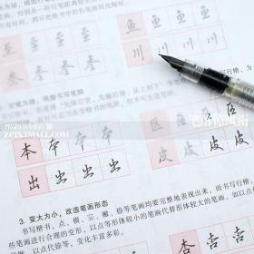 把书法老师请回家 吴玉生行楷钢笔字帖技法图解 升级版 华夏万卷