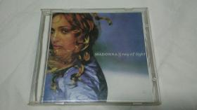 CD光盘     MADONNA  ray of light      (    麦当娜 光芒万丈)