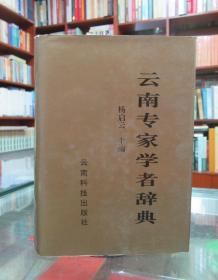 云南专家学者辞典