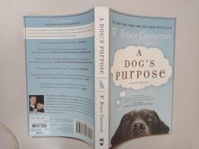 英文原版 A Dog's Purpose by W. Bruce Cameron W. Bruce Cameron / Forge Books; 1st edition / 2011 / 平装