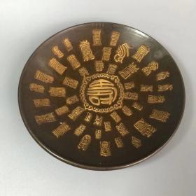 老铜盘08523