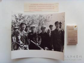 超大尺寸:1972年,湖南衡东县委书记彭仁阶(左一)带领县委常委,在大沅渡公社调研
