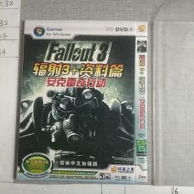辐射3+资料篇 安克雷奇行动 DVD(1碟装)
