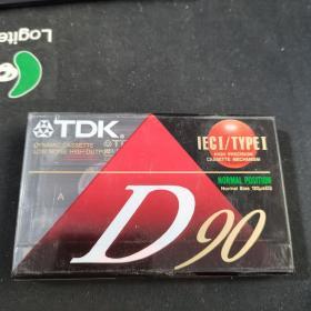 磁带 TDK D90未拆封