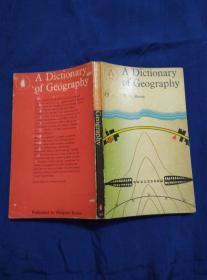 A DICTIONARY OF GEOGRAPHY 地理词典
