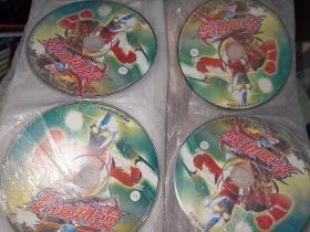 麦克斯奥特曼VCD 1-20 少1.3两碟 无包装