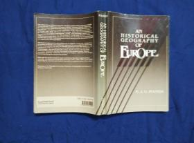 AN HISTORICAL GEOGRAPHY OF EUROPE 欧洲历史地理