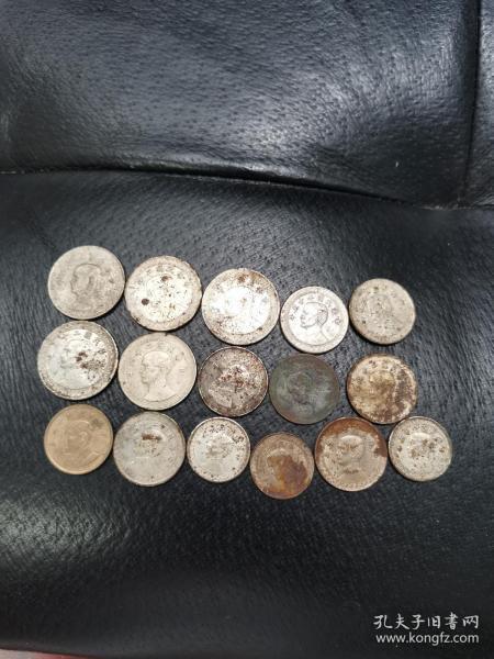 民国镍币16枚(欢迎进店选购)