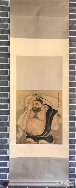 丁云鵬          純手繪          國畫        (賣家包郵)工藝品