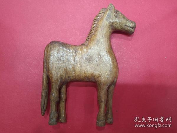 天然根雕---马