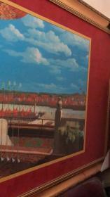 库存有量----开国大典 彩色丝绸珍藏版 董希文 画 启功题 按照董希文原作 等比例放大制作 尺寸 长157.5乘81.5厘米 丝绸艺术珍藏品 带收藏证书,1999年9月出版,共印2000副 印版已公正销毁。 限量绝版,属中国第一幅全彩色丝绸艺术画