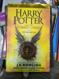 特价~Harry Potter and the Cursed Child – Parts I & II 哈利波特与被诅咒的孩子(英国版) 英文原版9780751565355