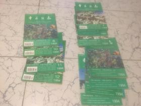 中医杂志  1994年1-12期(缺9)11本合售