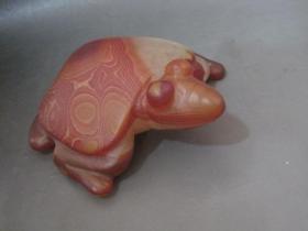 玛瑙 乌龟 摆件