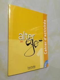 【预定】Alter Ego+ a1 练习册 新版 法语原版教材 附CD 法文版