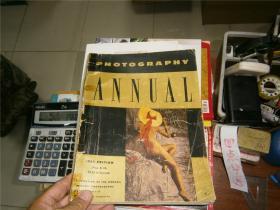 PHOTOGRAPHY ANNUAL, 1954   摄影年刊,1953年版, 黑白图片多