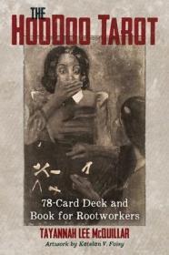 英文原版The Hoodoo Tarot胡毒塔罗牌 盒装78张卡 含一本指南 塑封全新