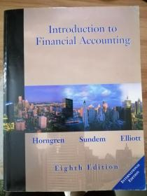 introduction to financial accounting eighth edition