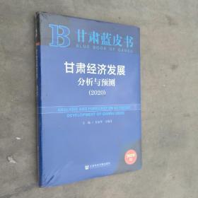 甘肃经济发展与预测(2020) 全新未开封