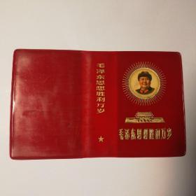 毛泽东思想胜利万岁 64开外护封
