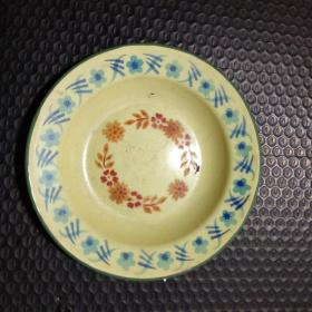 民国时期搪华业搪瓷厂地球牌搪瓷盘