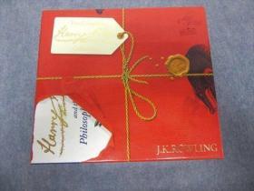 预售绝版哈利波特签名版红色礼盒平装harry potter signature paperback box