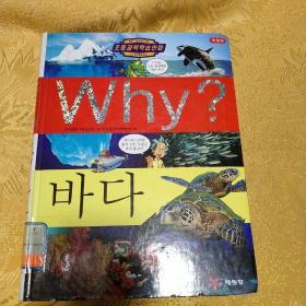 韩国原版书,大海。