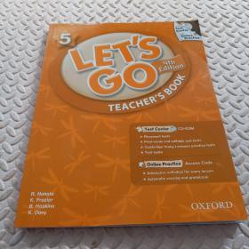 Let's Go: 5: Teacher's Book With Test Center Pack     带光盘