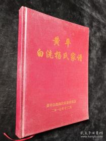 黄平白洗杨氏家谱